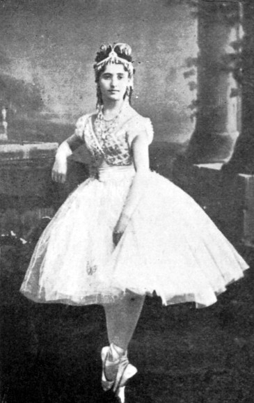 Coppelia - Giuseppina Bozzachi as Swanhilda - Paris 1870