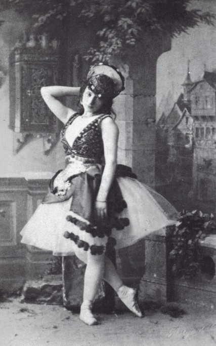 La Esmeralda - Virginia Zucchi as Esmeralda - 1886