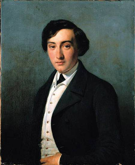 Portrait of Lucien Petipa, Petipa's brother