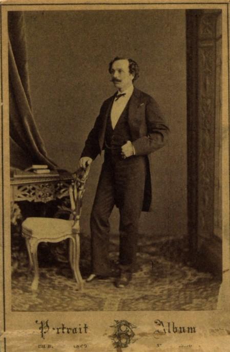 Marius Petipa (ca. 1855)