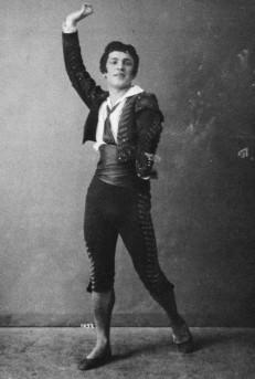 Pierre Vladimirov in the Pas de trois (ca. 1909)