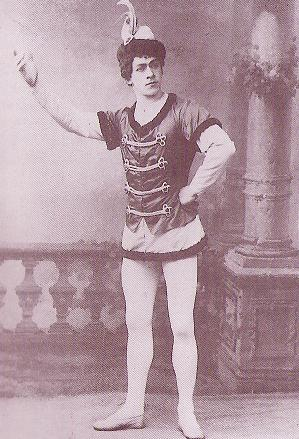Nikolai Legat as Béranger (1898)