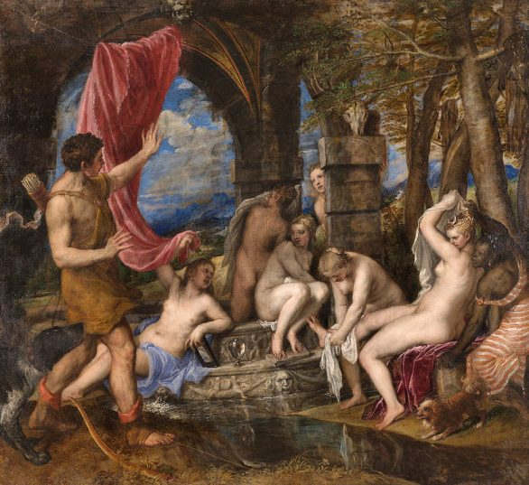 Diana and Actaeon by Titan (1558)
