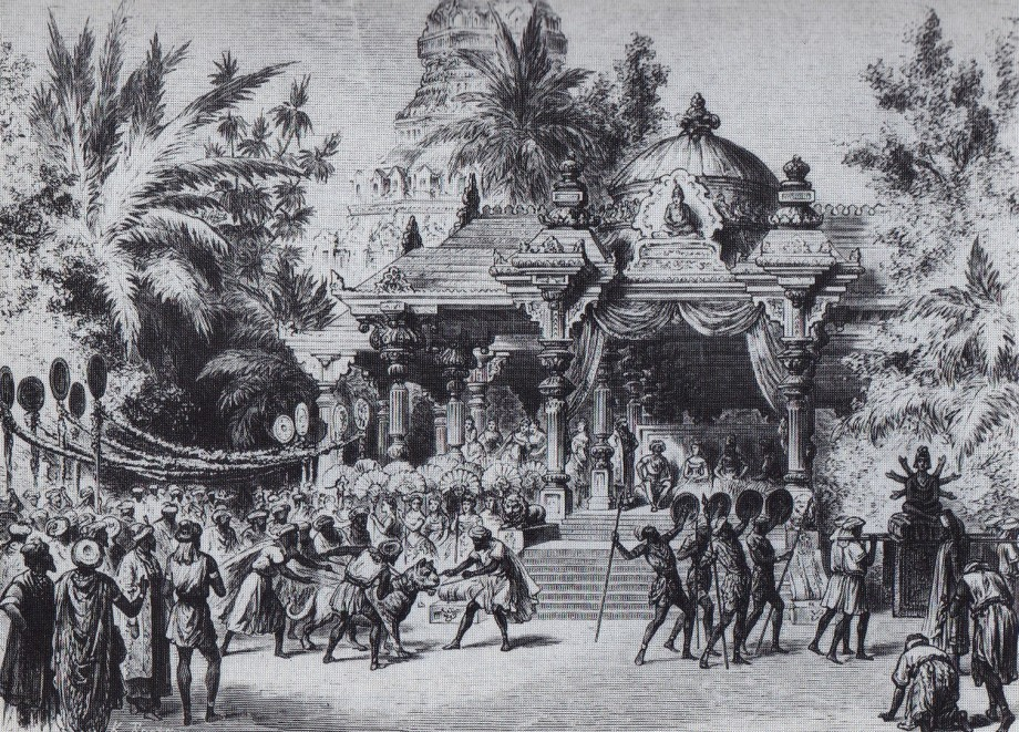 Act 2 of the original production of La Bayadere (1877)