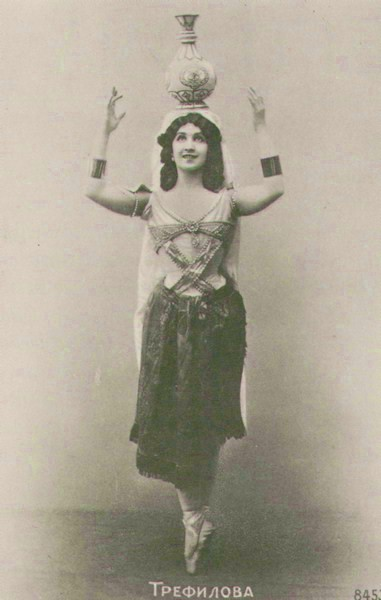 Vera Trefilova in the Danse Manu (1900)