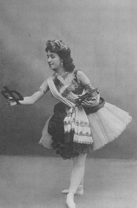"Matilda Kschessinskaya as Esmeralda in the ""Reverie"" scene (1899)"