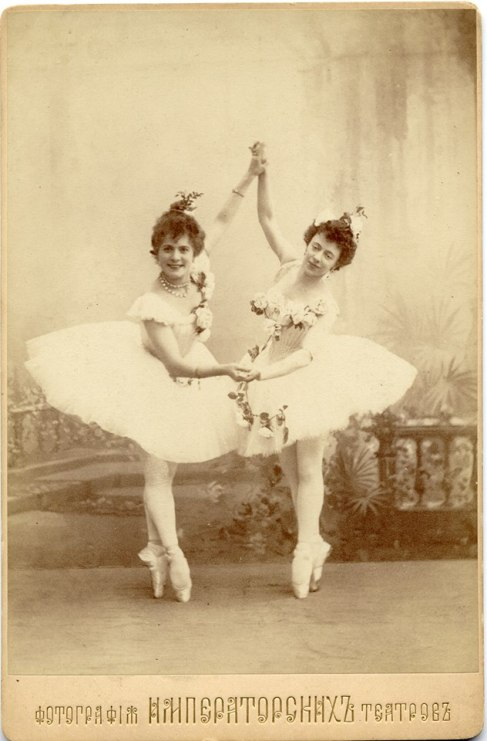 Le Corsaire - Pierina Legnani as Medora & Olga Preobrazhenskaya as Gulnare - 1899