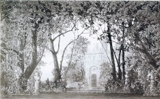Decor for Act 1, scene 1 of the 1895 restaging