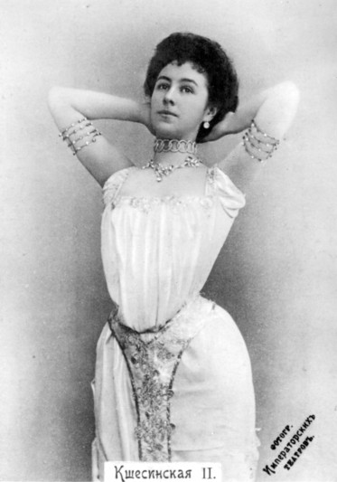 Matilda Kschessinskaya as Princess Aspicia (1898)