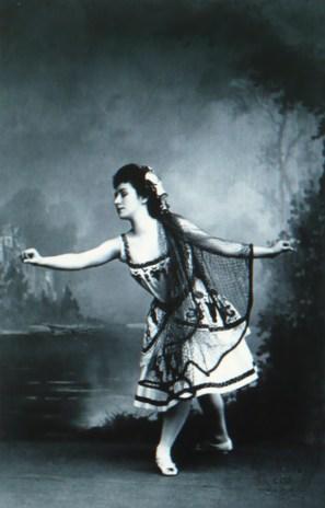Matilda Kschessinskaya as Princess Aspicia in the Fisherman's hut scene (1898)