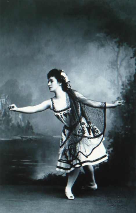 Matilda Kschessinskaya as Princess Aspicia in the Fisherman's hut scene (1898)