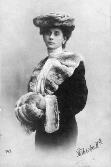 Anna Pavlova (ca. 1905)
