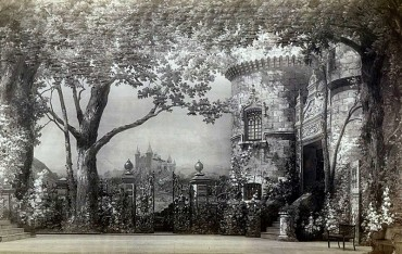 The decor of Act 1 (1896)