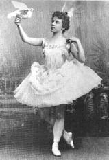 Olga Preobrazhenskaya as Venus (1896)