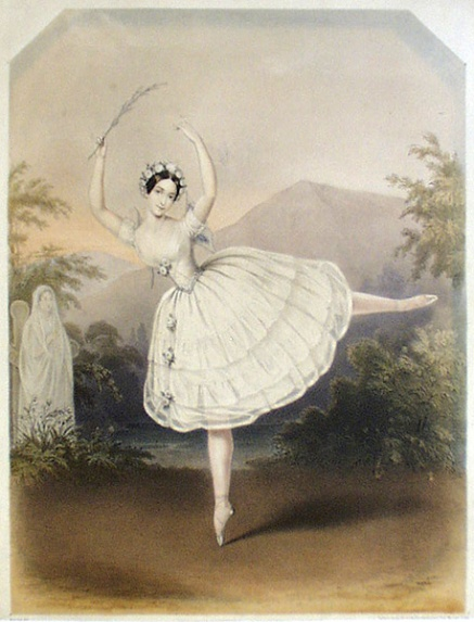 Adele Dumilatre as Myrtha (1841)