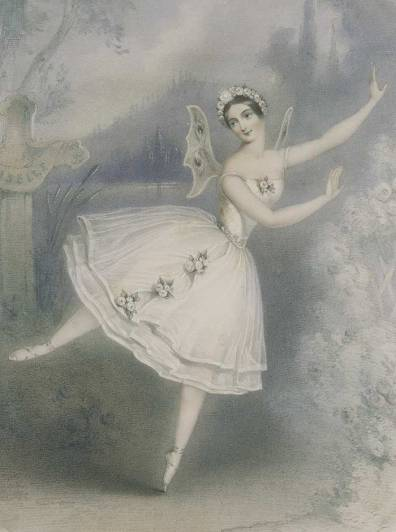 Carlotta Grisi as Giselle (1841)