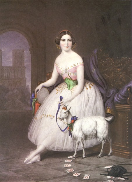 Fanny Elssler as Esmeralda (1845)