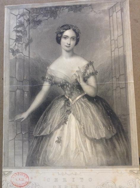 Fanny Cerrito as Ondine (1843)