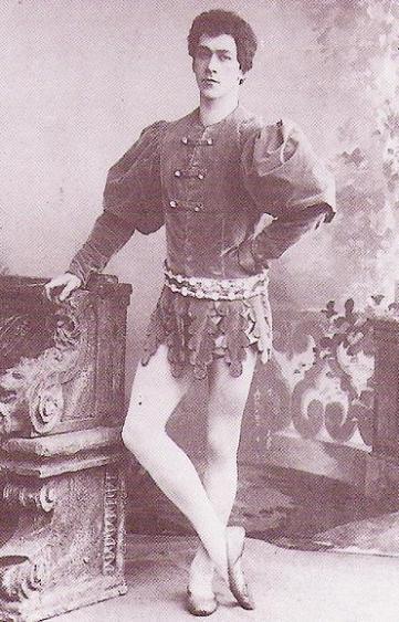 Nikolai Legat as Beranger (1898)