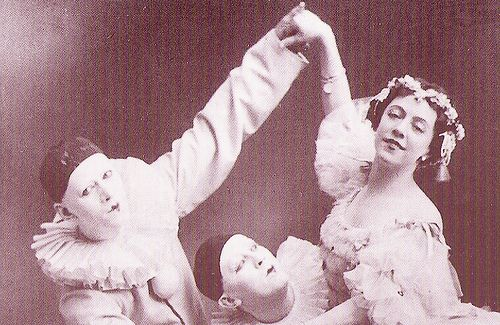 Nikolai and Sergei Legat and Olga Preobrazhenskaya in The Fairy Doll (1903)