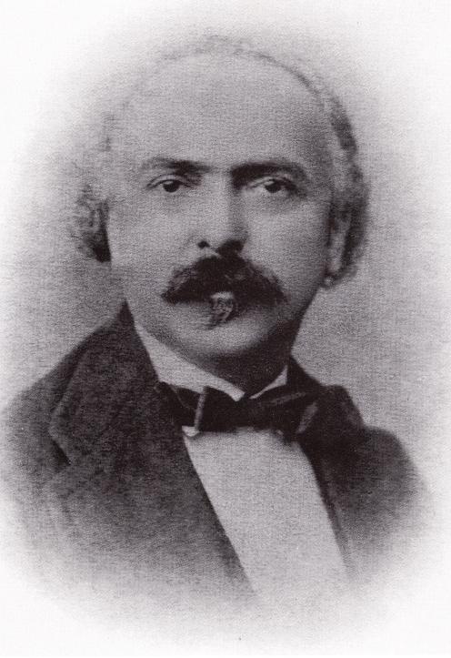 Cesare Cecchetti, Cecchetti's father (ca. 1875)