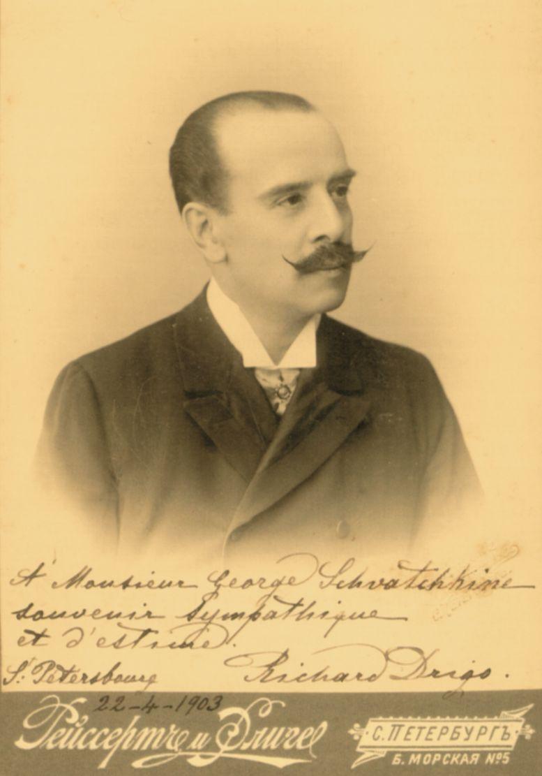 Maestro Riccardo Eugenio Drigo (1903)