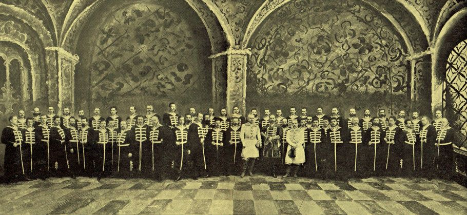 Riccardo Drigo and the Imperial Theatre Orchestra (ca. 1905)