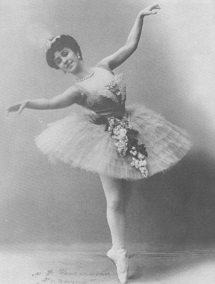 Matilda Kschessinskaya as Niriti in Nikolai Legat's revival of The Talisman (ca. 1909)