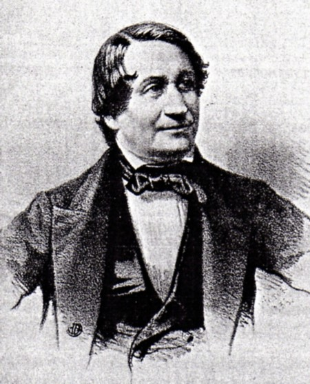 Maestro Cesare Pugni (ca. 1860)