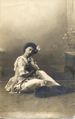 Olga Preobrazhenzkaya as Lise (ca. 1905)