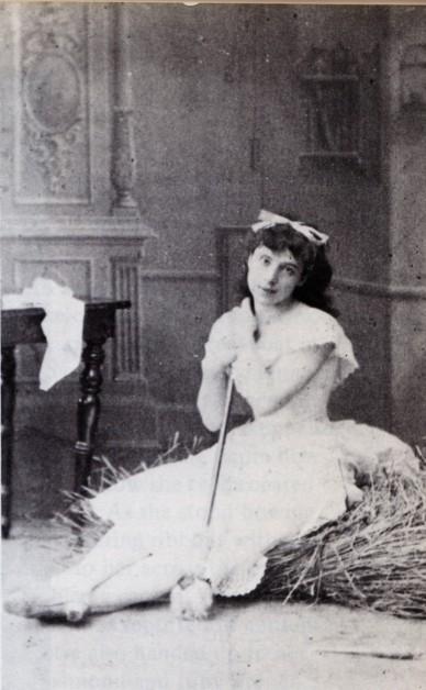 Virginia Zucchi as Lise (1885)