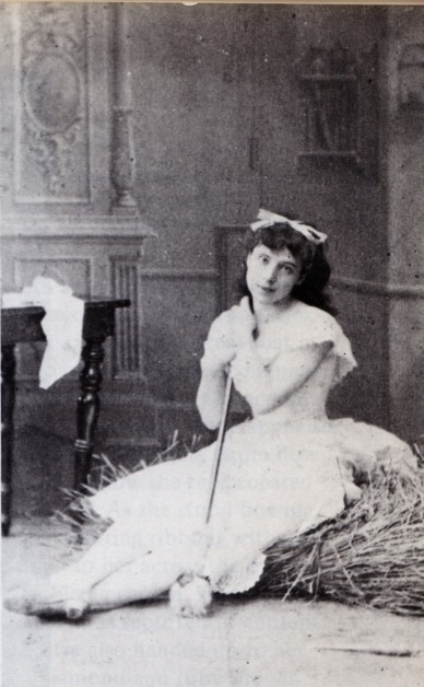 Virginia Zucchi as Lise (1885)