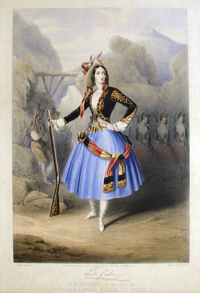 Lucile Grahn as Catarina (1846)