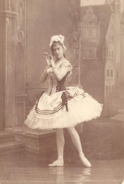 Varvara Nikitina as Swanhilda (1884)