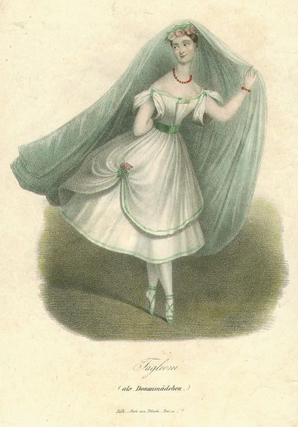 Marie Taglioni as the Daughter of the Danube (1836)