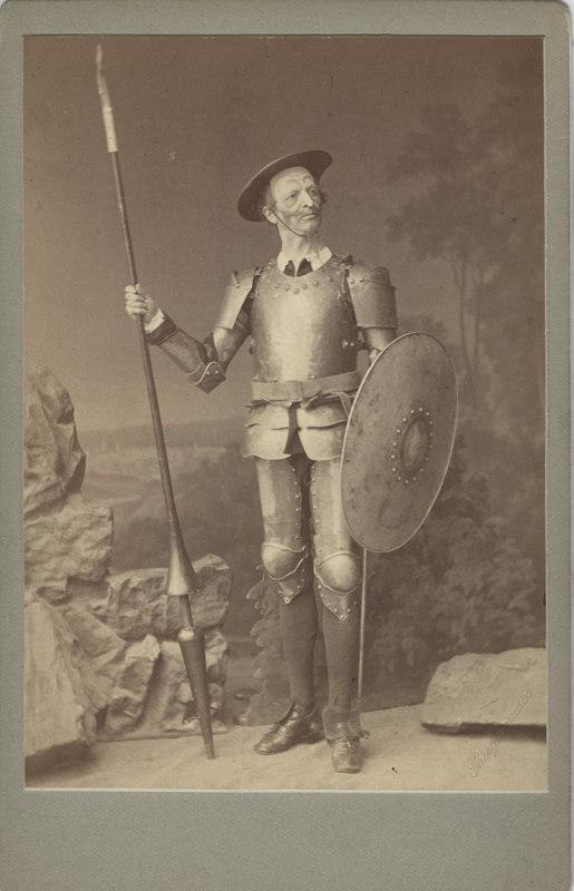 Timofei Stukolkin as Don Quixote (1871)