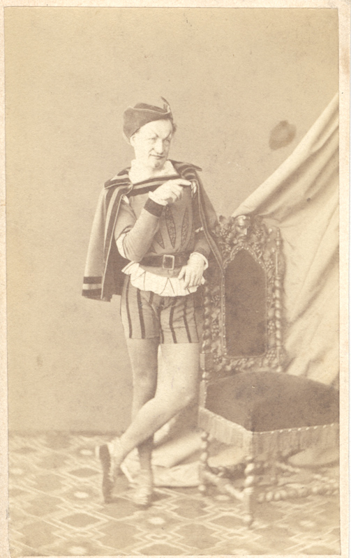 Alexei Bogdanov as Mephistopheles (1860s)