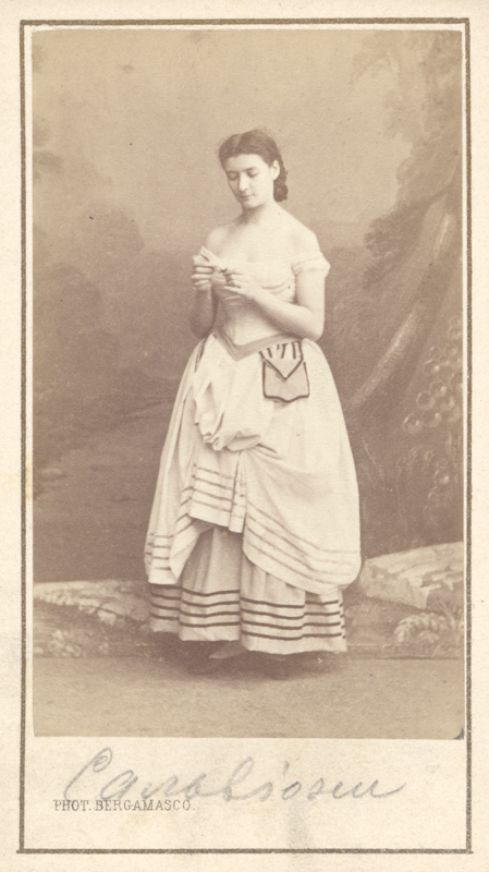 Guglielmina Salvioni as Marguerite (1867)