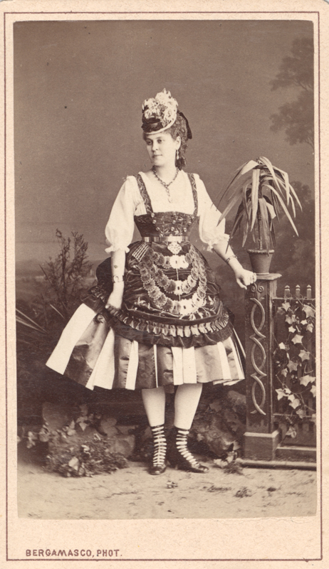Lyubov Radina as Martha (1860s)