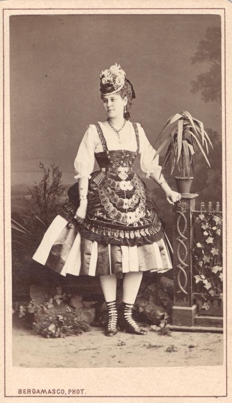 Lyubov Radina as Martha (1860s)