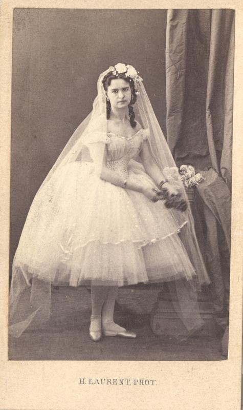 Maria Surovshchikova-Petipa as Marguerite (1860s)