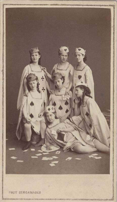 Scene from the ballet (1866)