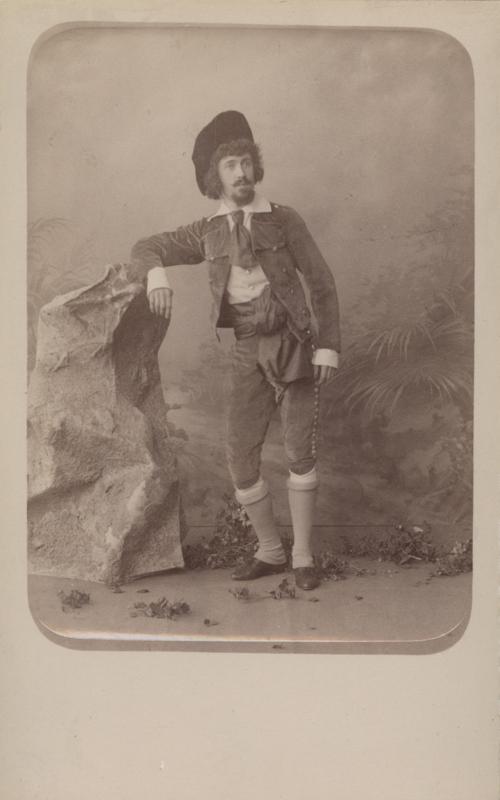 Ivan Ponomarev as a smuggler (1891)