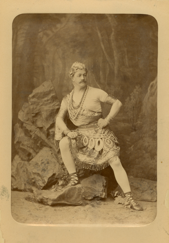 Lev Ivanov as Solor (1877)