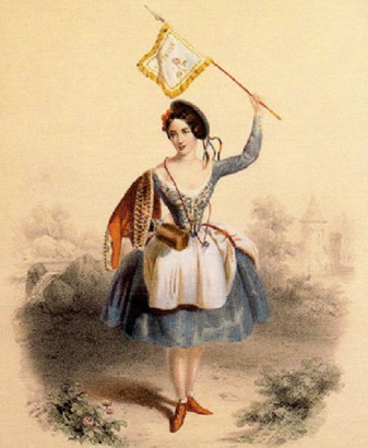 Fanny Cerrito as Kathi (1844)