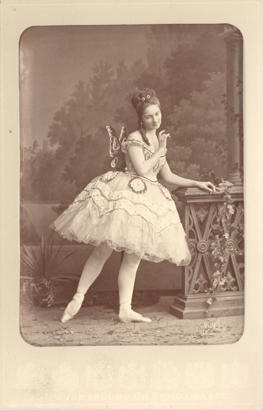 Ekaterina Vazem as Farfalla (1874)