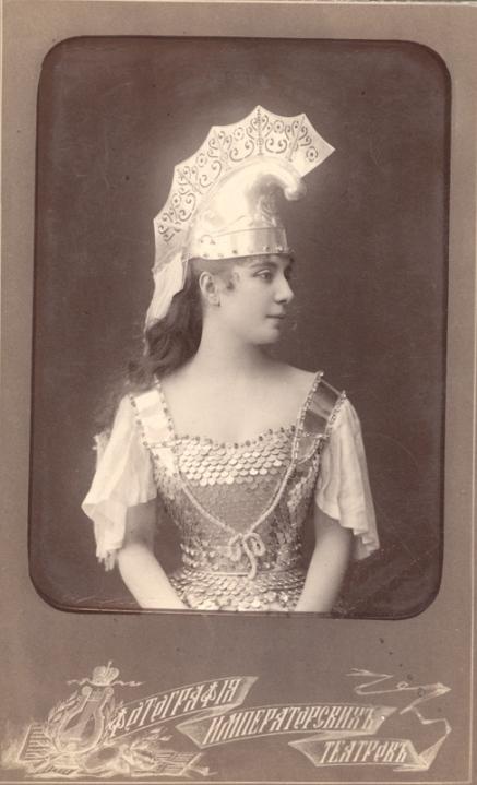 Carlotta Brianza as Queen Nisia (1891)