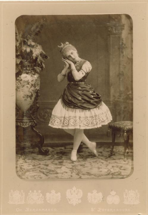 Eugenia Sokolova as Diana in the Pas de Diane (1891)