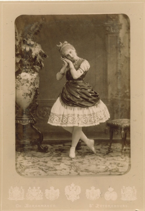 Eugenia Sokolova as Diana in the Pas de Diane (1891)