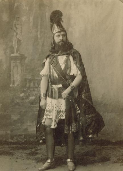 Pavel Gerdt as King Candaules (1891)